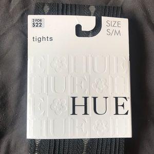 BNIP HUE Grey Tights Size S/M
